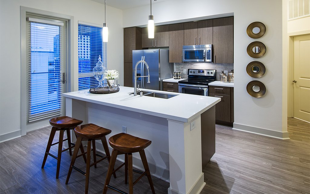 Sustainable SolarPowered Apartments In LA InsideHook - Nest thermostat apartment