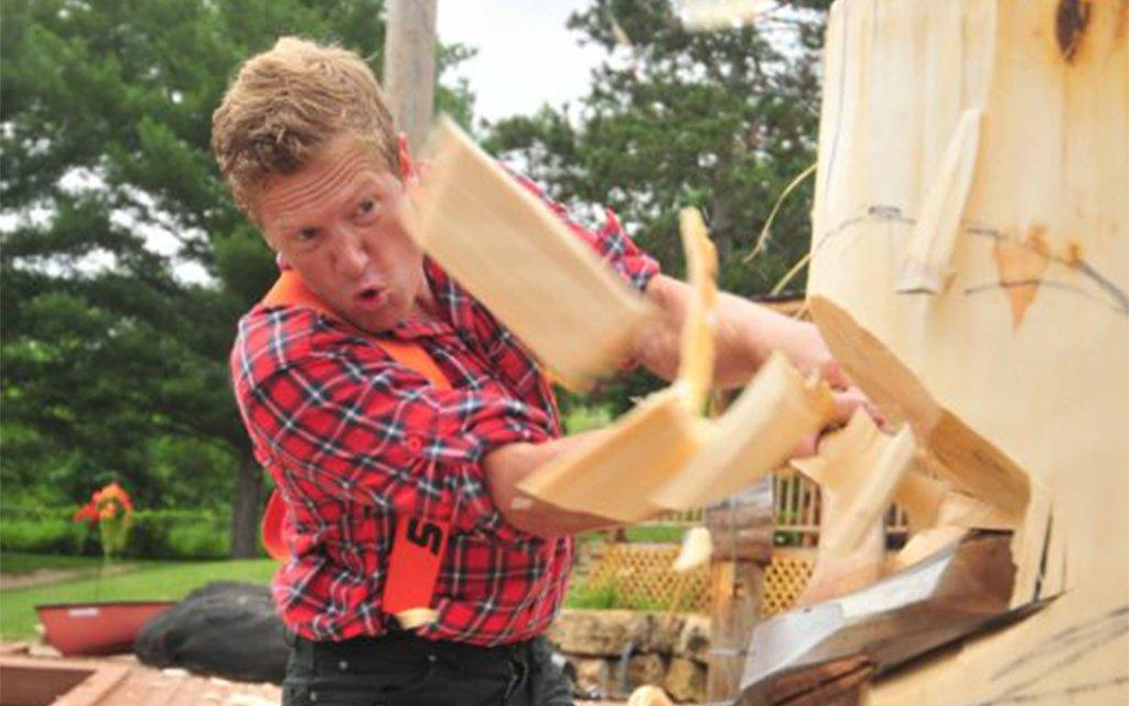 training day cassidy scheer champion lumberjack insidehook
