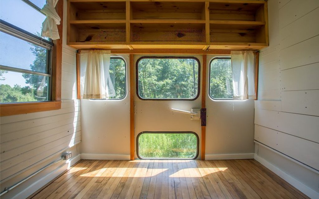 Converted School Bus Tiny House Insidehook