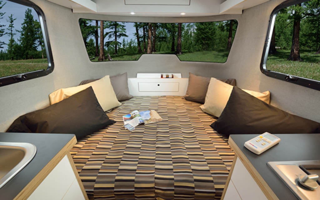 Airstream's Nest Caravans Trailers Are Small and Towable ...