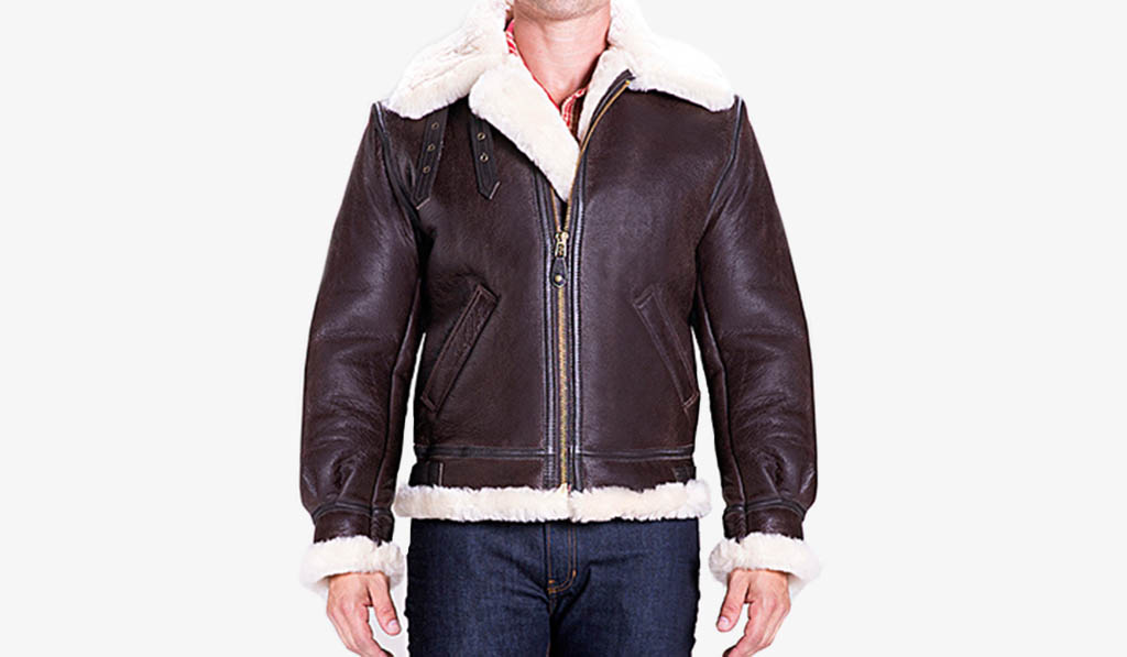 Schott Sheepskin Jacket - JacketIn
