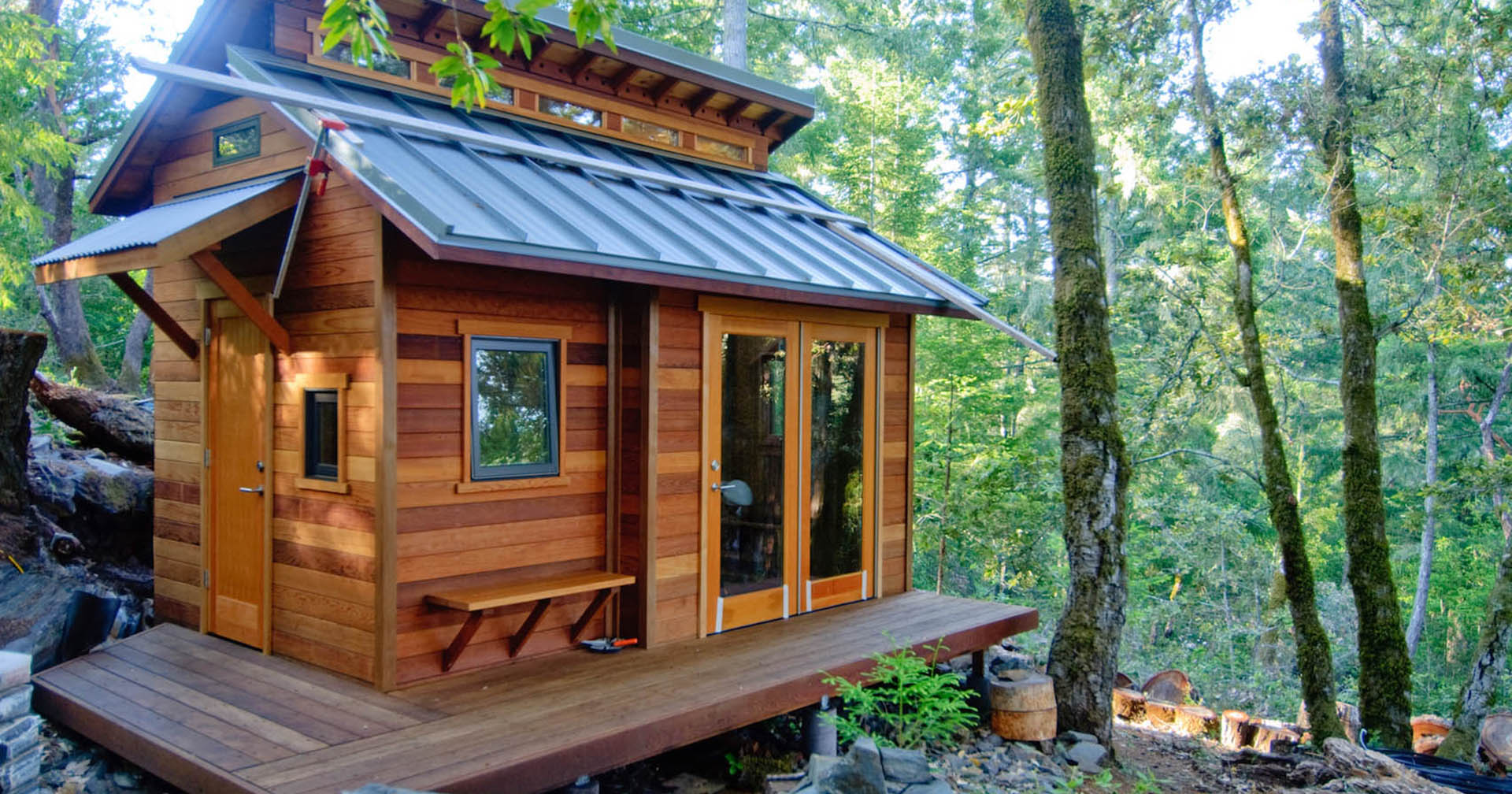 Square Foot Homes 100-square-foot tiny homes | insidehook